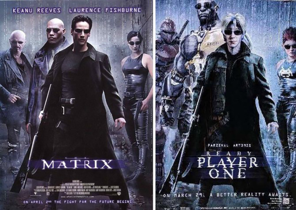 the matrix ready player one