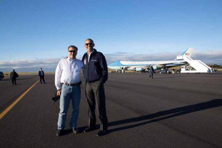 Pete Souza: «Disparé 1,9 millones de fotografías durante los ocho años con Obama»