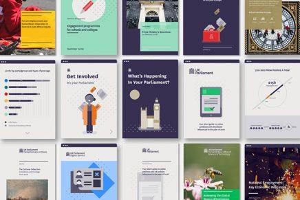 SomeOne crea la nueva identidad visual del Parlamento de Reino Unido