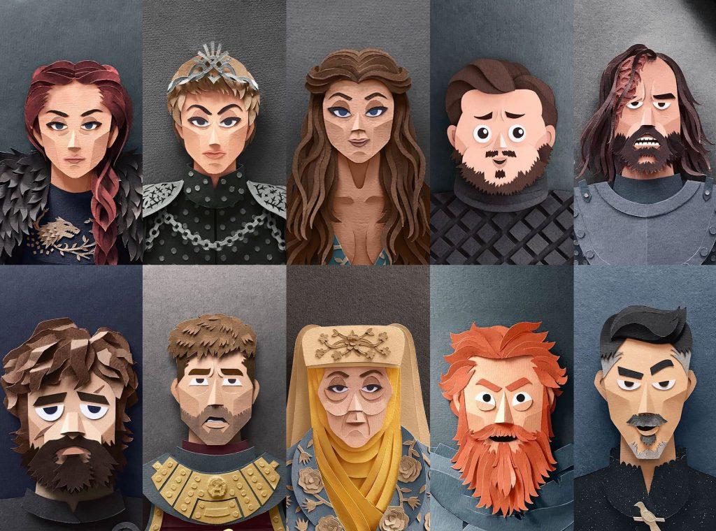 Personajes de Juego de Tronos 2