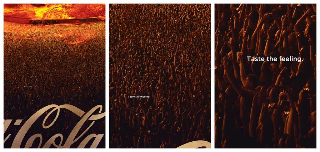 Publicidad burbujas Coca Cola