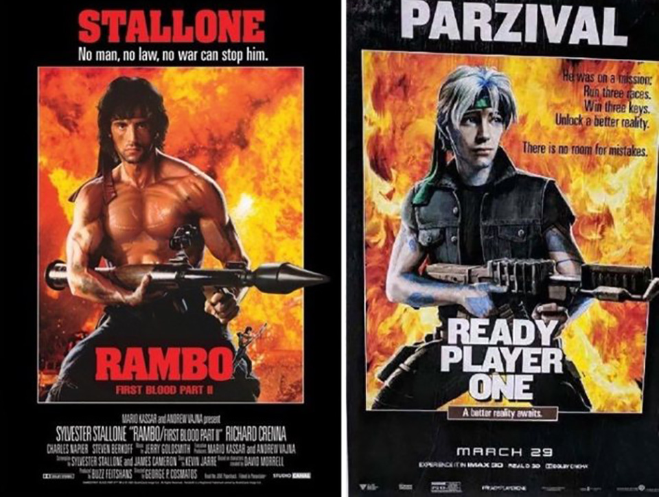 Rambo ready player one
