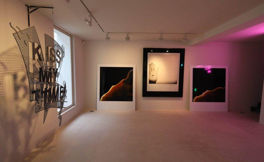 Segunda planta de la galeria Solo