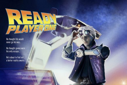 Pósteres de 'Ready Player One' rinden homenaje a clásicos del cine