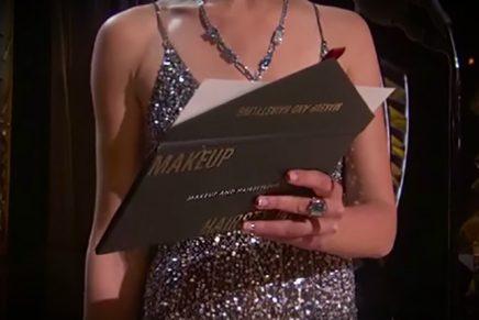 Nuevo diseño en los sobres de los Premios Oscars para evitar el error del año pasado