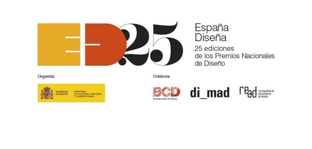 Espana Disena 25 ediciones de los premios nacionales de diseno