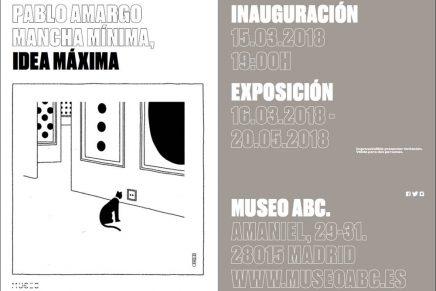 Hoy se inaugura la exposición de Pablo Amargo 'Mancha mínima, idea máxima' en el Museo ABC