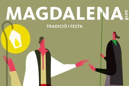 Así se hizo el cartel de la Magdalena presentado por la Generalitat
