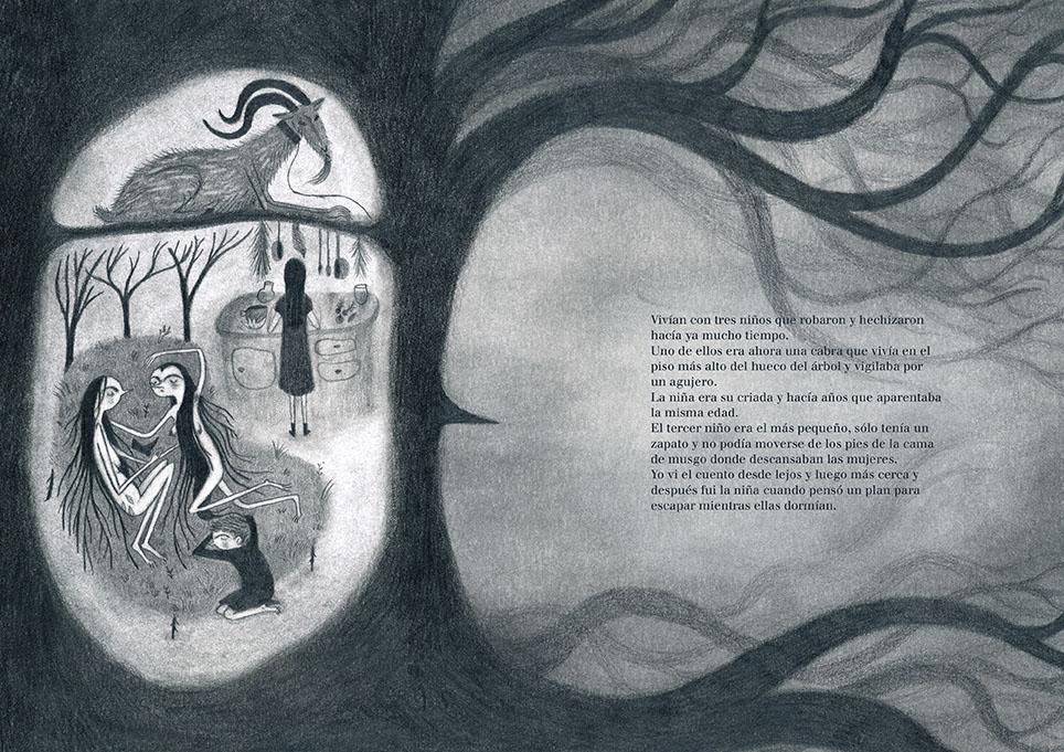 Onironiro, el libro ilustrado de Ana Sender