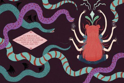 'Onironiro', el libro ilustrado que muestra el mundo de fantasía de Ana Sender