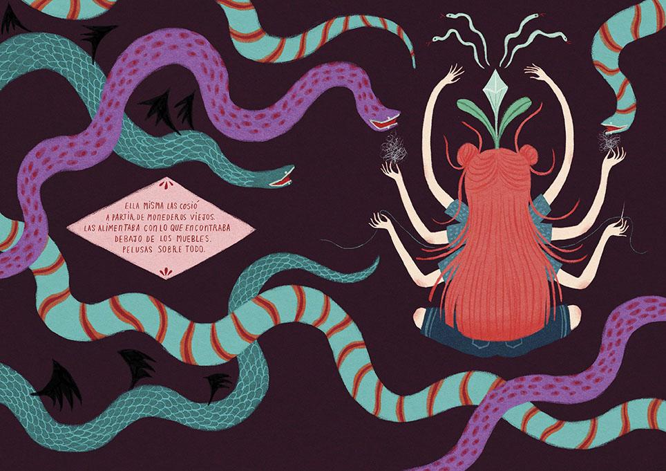 uno de los dibujos de onironiro