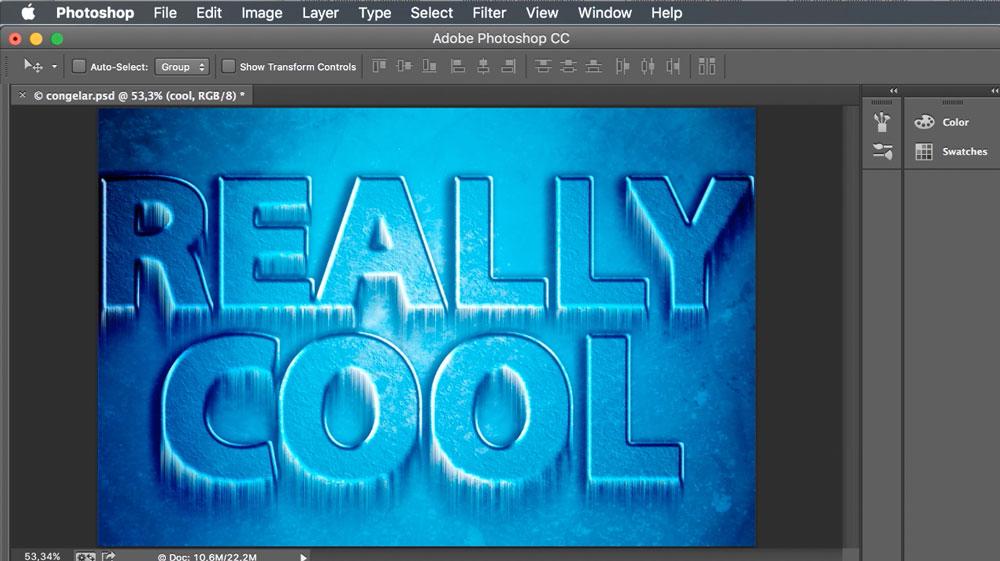Cómo crear textos creativos en Photoshop