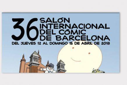 La 36ª edición del Salón del Cómic de Barcelona comenzará el próximo jueves 12 de abril