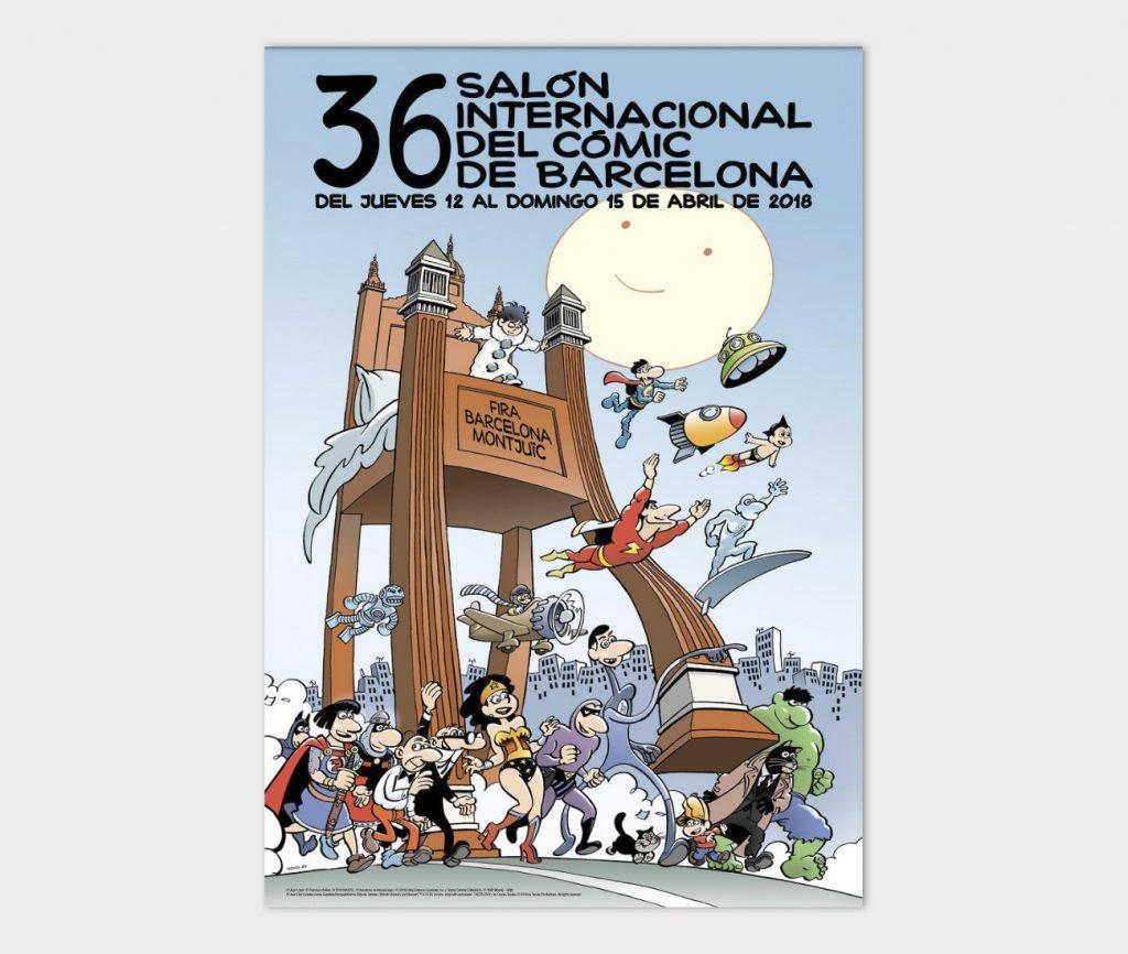 36 Salon del comic de Barcelona