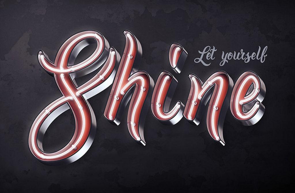 Bright Calligraphy