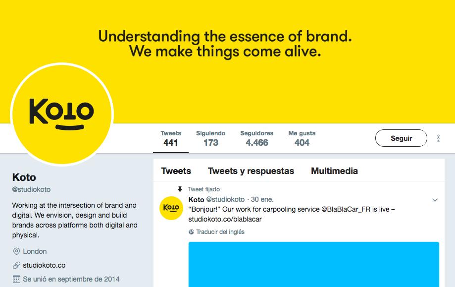 de diseño que debes seguir en Twitter