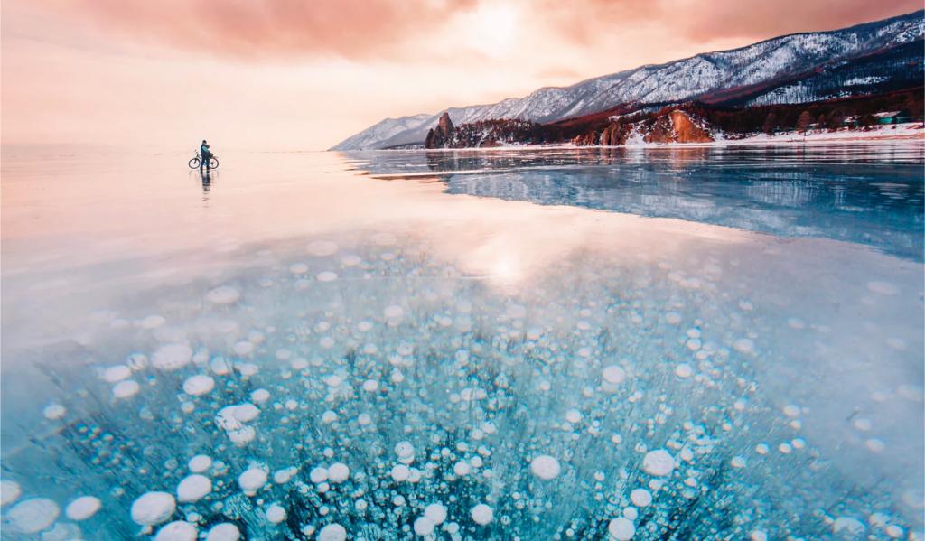 Estas imágenes del lago Baikal hechas por Kristina Makeeva te dejarán helado
