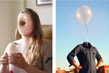 Cinemagraphs surrealistas y graciosos de la colección One Loop Portrait