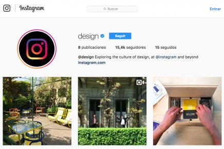 Así es la cuenta de Instagram dedicada al diseño que acaban de abrir