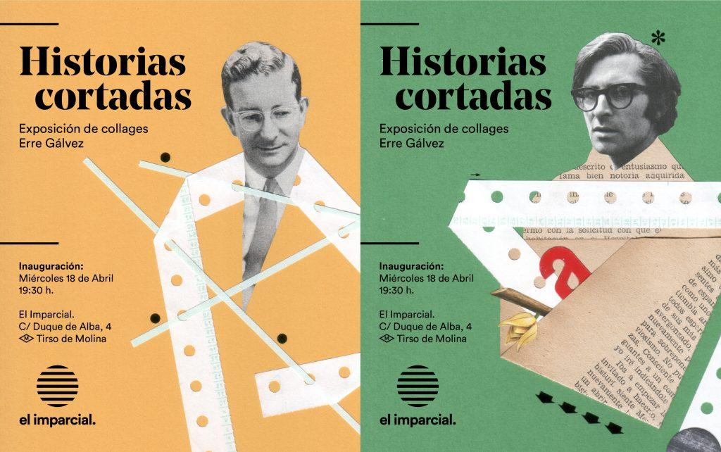 Carteles El Imparcial Erre Galvez - Raúl Gálvez