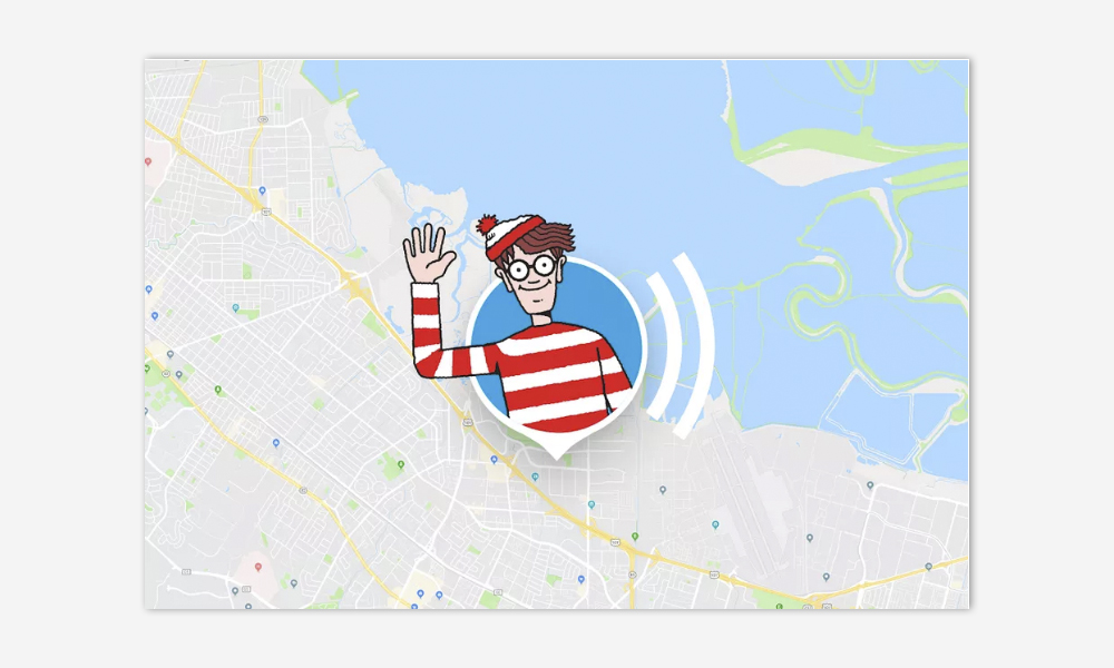 ¿Donde esta wally? disponible en google maps