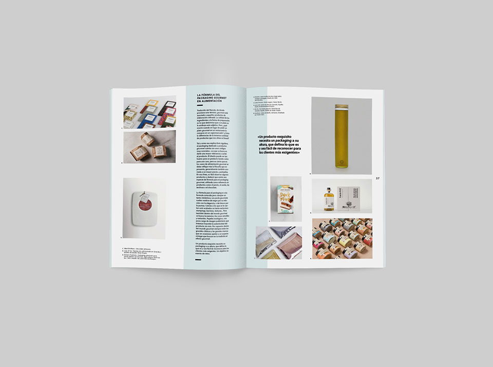 revista graffica 9 packaging gourmet alimentation