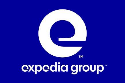 Paula Scher de Pentagram crea una nueva identidad tipográfica para Expedia Group