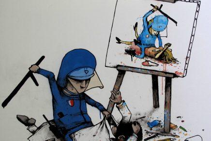 Descubre al artista urbano Dran, conocido como 'el Banksy francés'