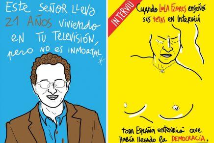 Omar Janaan retrata con humor los cambios culturales de los últimos 40 años en España