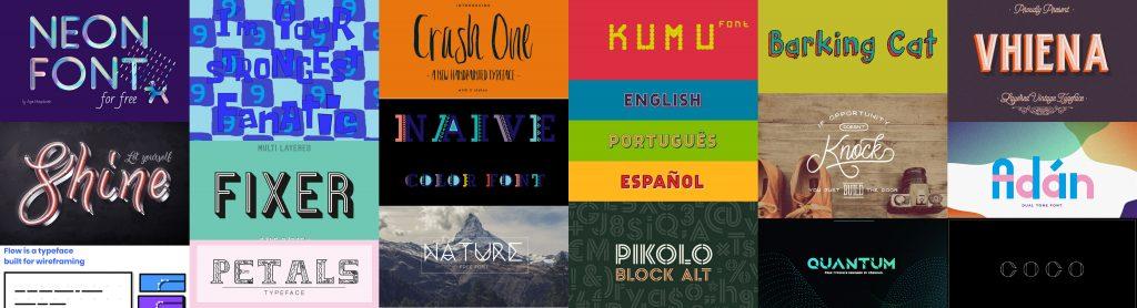 ¿Buscas tipografías gratuitas para tus nuevos proyectos?