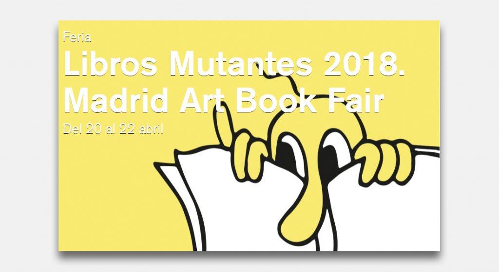 XI edicion Libros Mutantes 2018