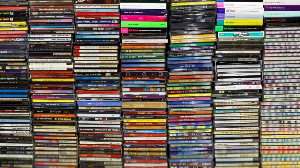 trabajos en CD
