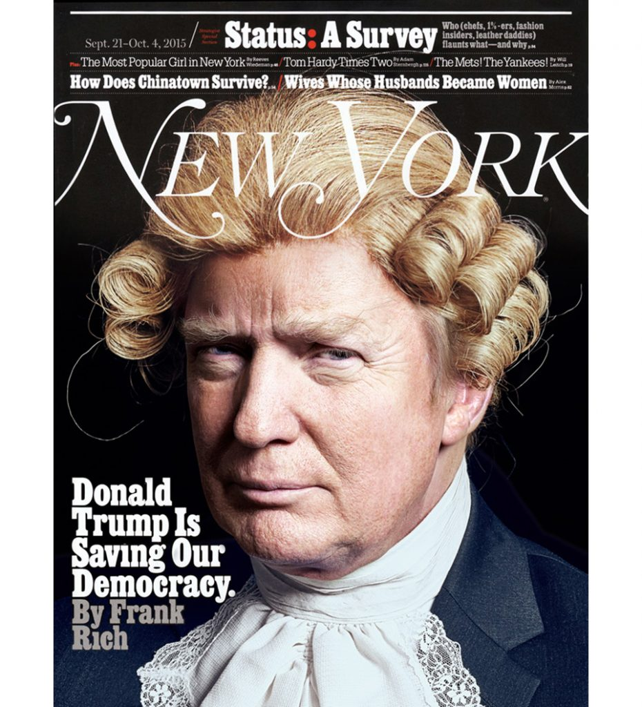 portada Donald Trump New York 2015