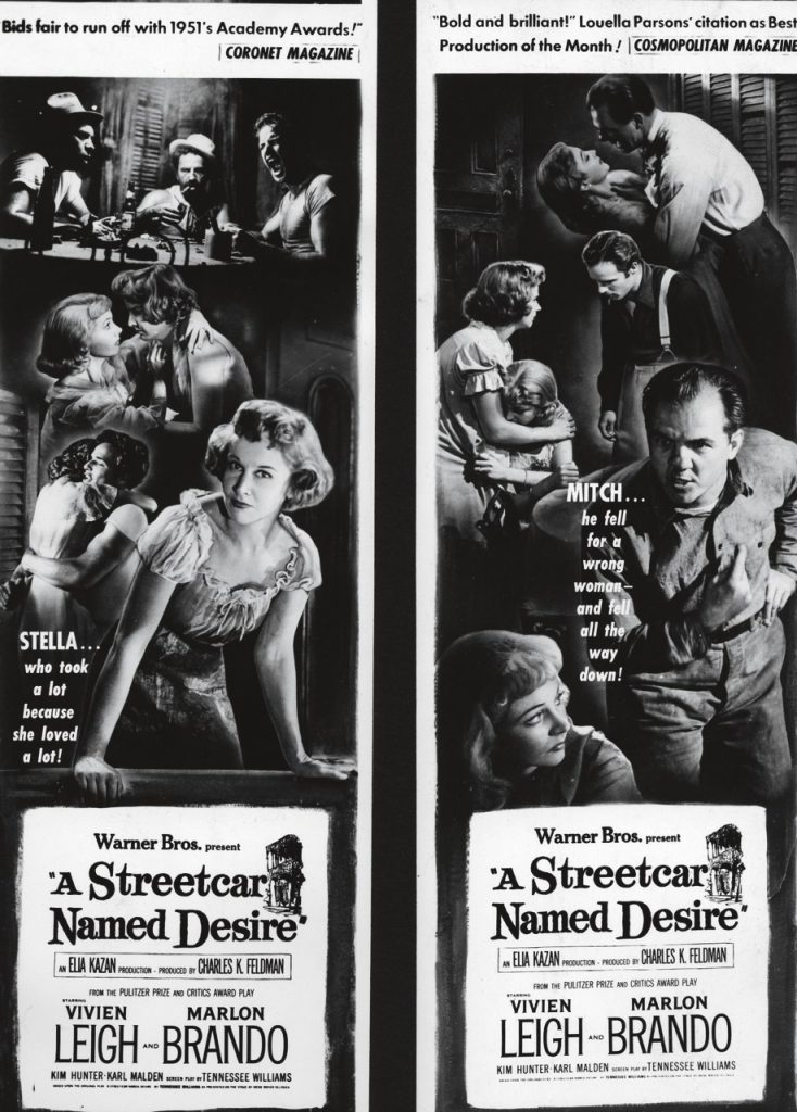A Streetcar Named Desire portada de Bill Gold
