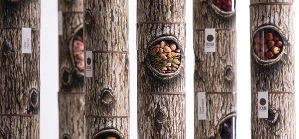 revista graffica 9 backbone branding troncos arboles
