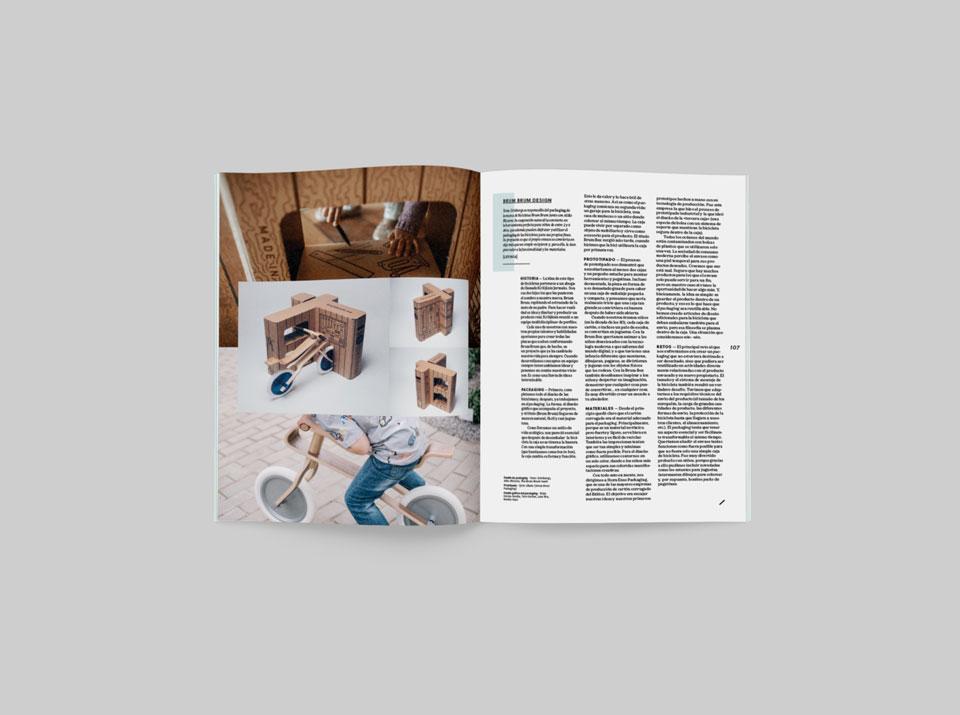revista graffica 9 brum brum design mockup primero