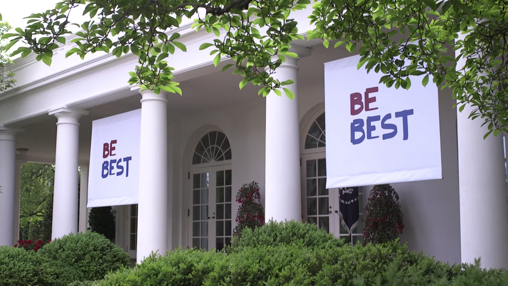 Be Best, logo de Melania Trump 2