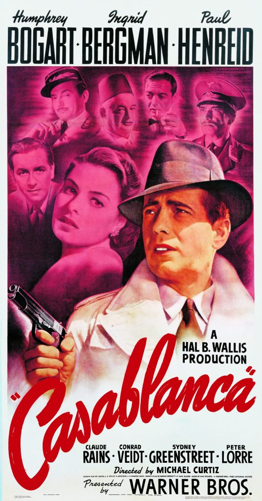 Casablanca portada de Bill Gold