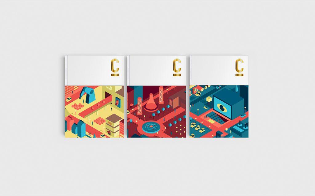 Un cóctel de propuestas creativas en el Informe Cotec 2018 diseñado por PalauGea