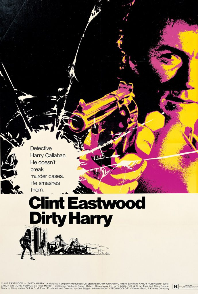 Dirty Harry portada de Bill Gold