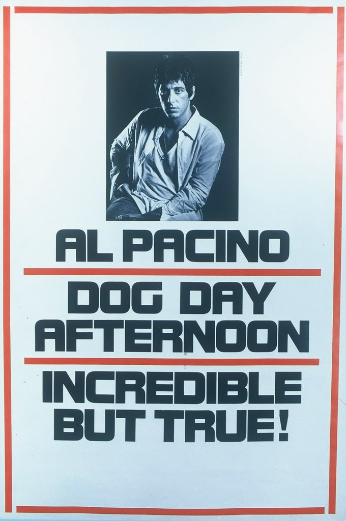 Dog Day Afternoon portada de Bill Gold