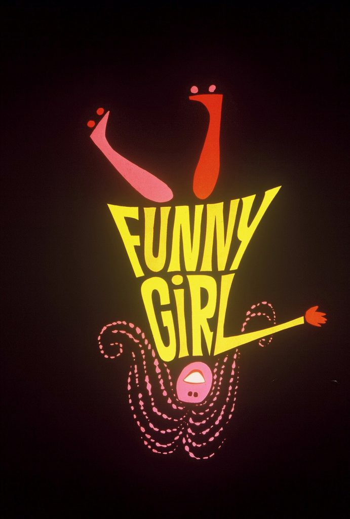Funny Girl portada de Bill Gold