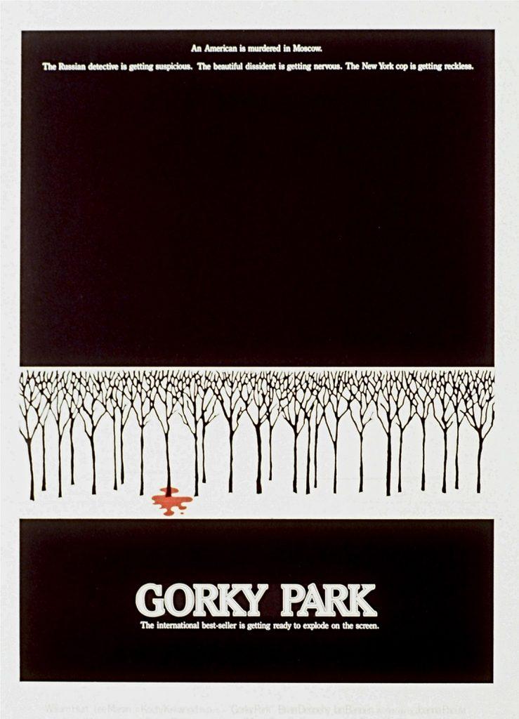 Gorky Park portada de Bill Gold