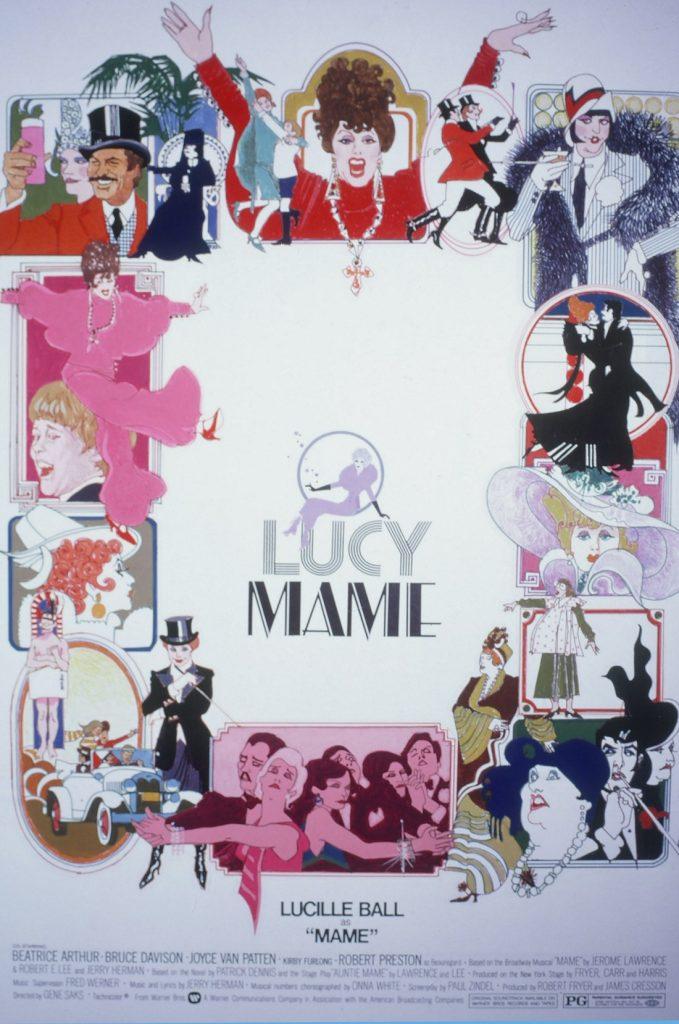 Lucy Mame portada de Bill Gold