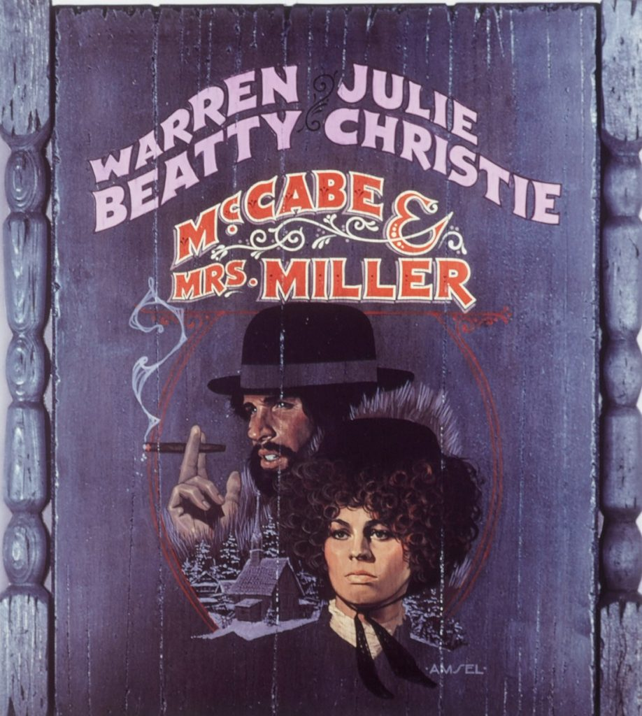 McCabe and Mrs Miller portada de Bill Gold