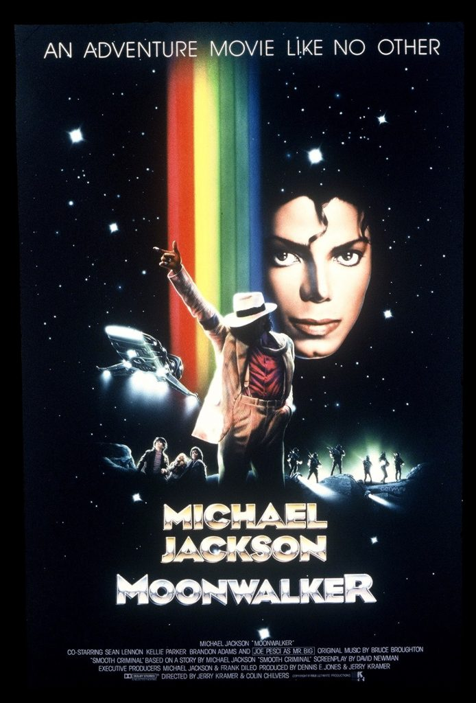 Moonwalker portada de Bill Gold