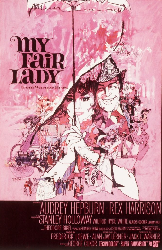 My Fair Lady portada de Bill Gold