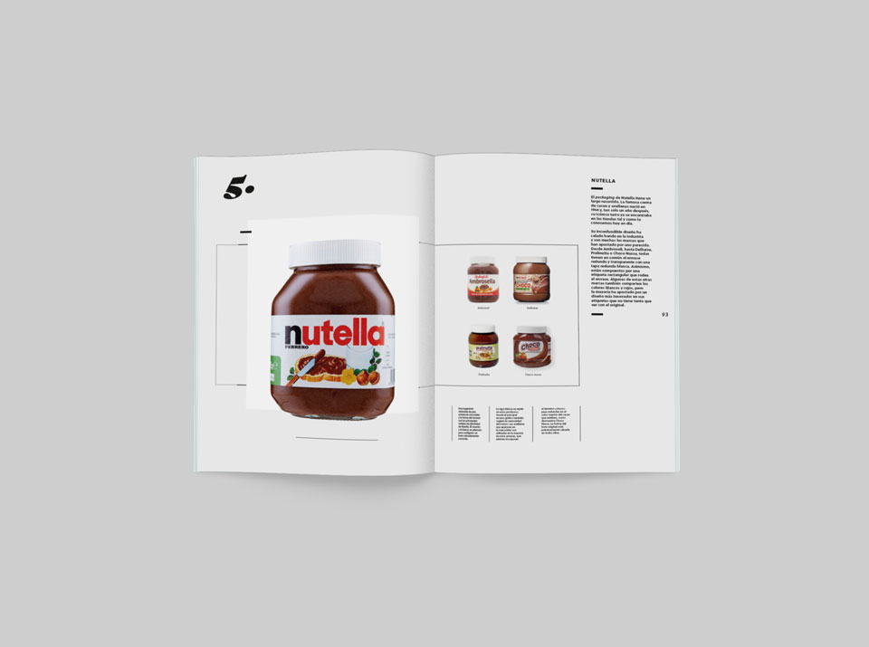 revista graffica 9 marcas parasito nutella chocolate