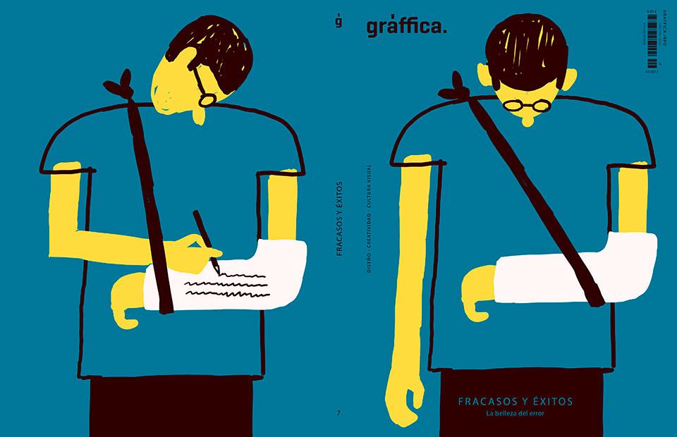 portada revista graffica 7 primera posibilidad escayola