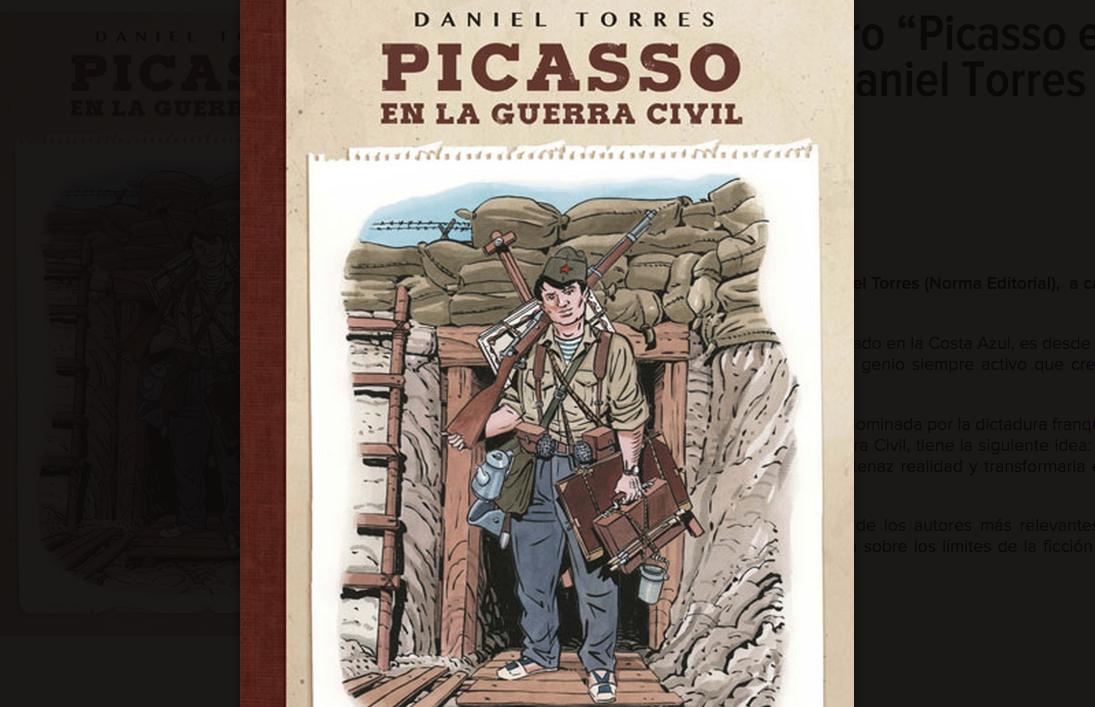 Picasso en la guerra civil, Daniel Torres